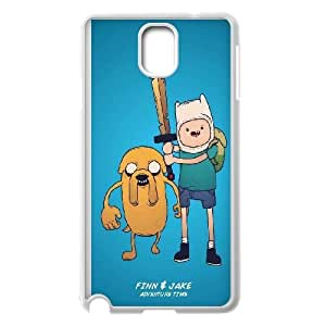 Adventure Time With Finn And Jake Samsung Galaxy Note 3 Cell Phone Case White phone component RT_270142