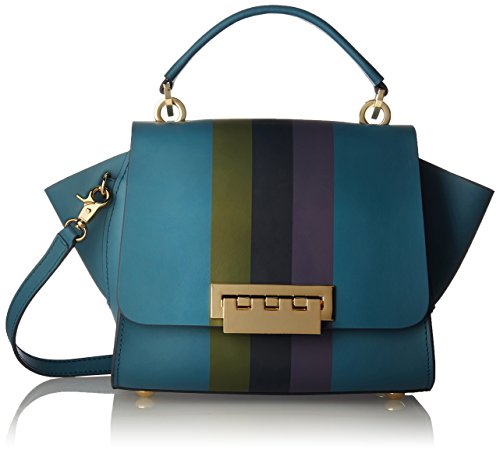 - ZAC Zac Posen Eartha Top Handle Crossbody-Colorblock, DENIM