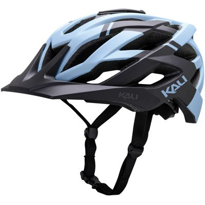Kali Protectives Lunati Helmet: Shade Matte Black/Ice MD/LG