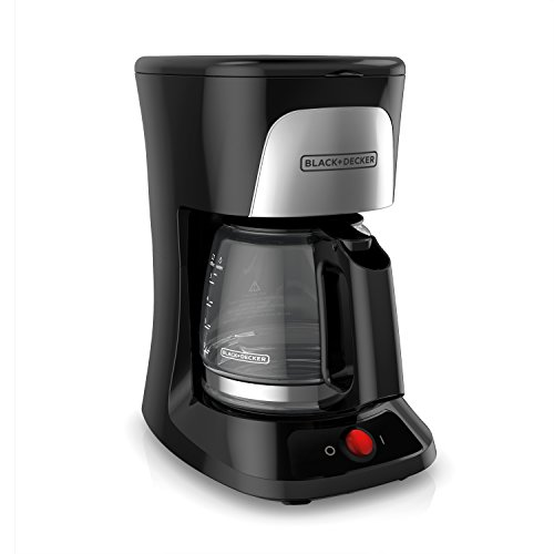 Coffee Maker Uae : BLACK+DECKER 5-Cup Coffeemaker with Duralife Glass Carafe, Black, CM0555B Kitchen in the UAE ...