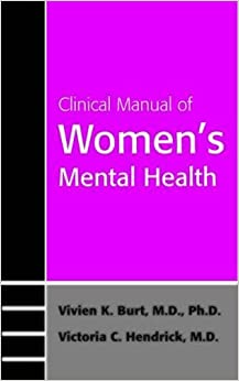 Book Clinical Manual of Women's Mental Health (Concise Guides)