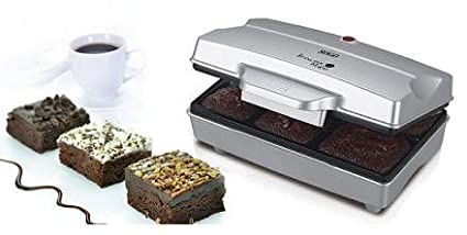 Sogo ccm-SS 7195 Muffin Maker, 6 formine, 700 W, argento [Classe di efficienza energetica A] CCM-SS-7195