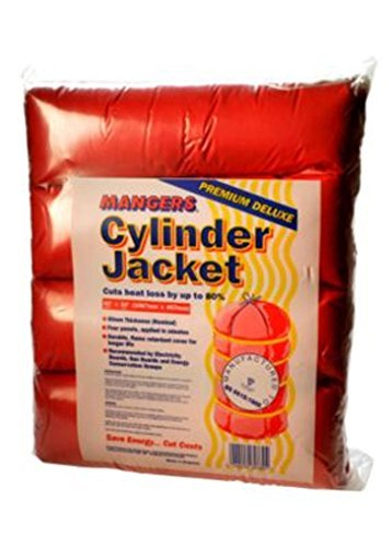 42 x 18 Hot Water Cylinder Jacket Tank Insulation by Mangers: Amazon ...