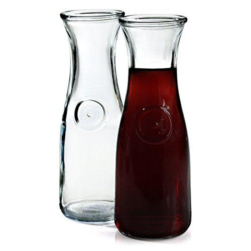 Anchor Hocking Liter Glass Carafe