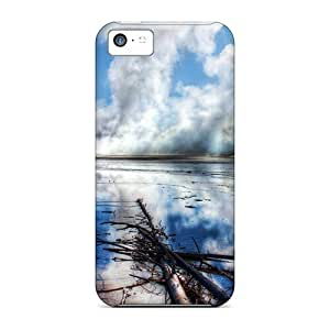 Jeffrehing Premium Protective Hard Case For Iphone 5c- Nice Design - Nature Other Among Woods