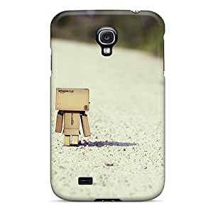 Tpu Case Cover Compatible For Galaxy S4/ Hot Case/ I Must Go Home