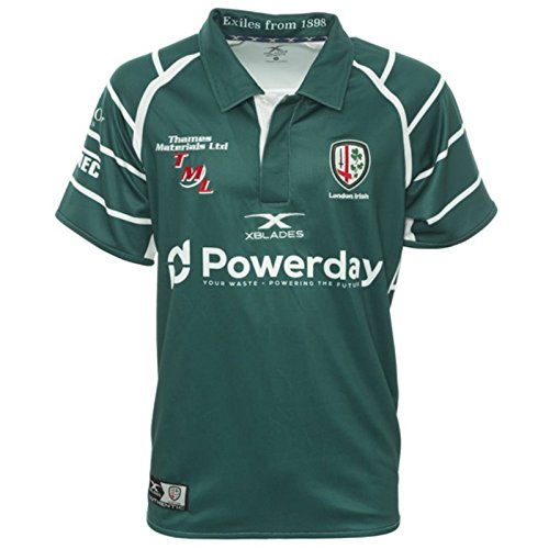 X3 BLADES London Irish Rugby Home Jersey - Home Usa Jersey Rugby