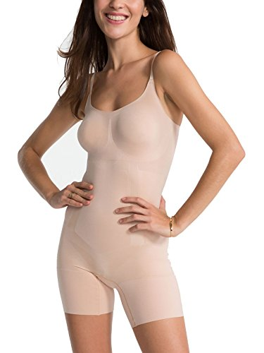 SPANX OnCore Firm Control Bodysuit, M, Soft Nude