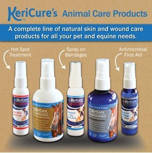 KeriCure Champion Seal - Champion Shield Silver Liquid Bandage Combo Pack; Spray on Liquid Bandage; 4oz Spray Wound Care for Horses and Large Animals by KeriCure (Image #5)
