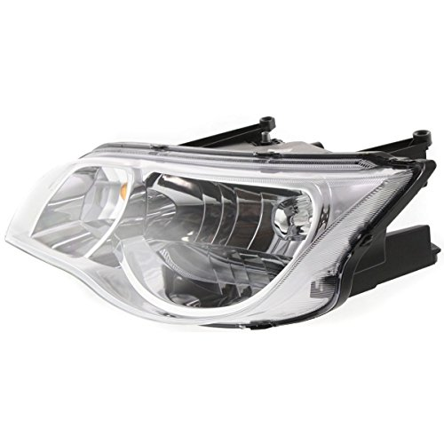 - Diften 114-A3961-X01 - 03-07 Saturn Ion 2 Door Coupe Headlight Headlamp Driver Side Left LH