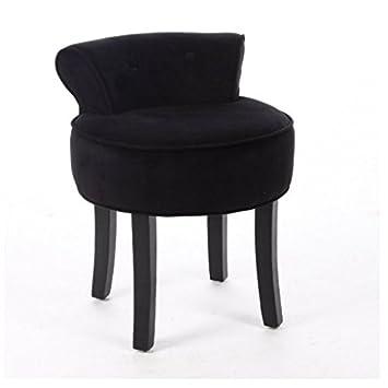 Yopih Schminktisch Vanity Hocker Gepolsterte Sitzfläche Stuhl ...