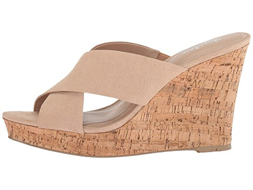 CHARLES BY CHARLES DAVID Women's Latrice Nude Microsuede 9.5 M US M