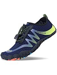 Mens Womens Water Sport Shoes Quick Dry Aqua Socks Barefoot Outdoor Beach  Swim Surf Pool Yoga 04b70c0d65