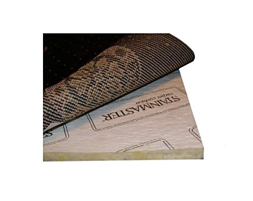 """9'x12' Multiple Sizes. AREA RUG PAD. Manufacturer: Carpenter Style: STAINMASTER Premium 1/2"""" Visco-Elastic Memory Foam with DuPont(TM) Hytrel(R) RS renewably sourced(TM) film. For area rugs, runners and carpet."""