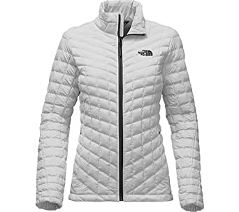 The North Face Stretch Thermoball Full Zip Women's Lunar Ice Grey Small