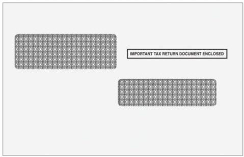 EGP IRS Approved Envelope for W-2C Correction Forms