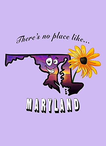 [Rectangle Refrigerator Magnet - There's No Place Like Maryland] (Wizard Of Oz Witch Socks)