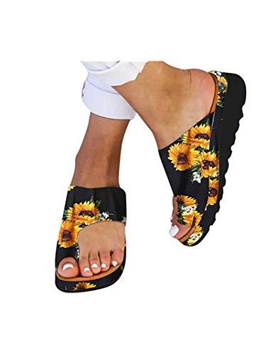Peacock Embroidered Jean - Dressin Women's Sandals 2019 New Women Comfy Platform Sandal Shoes Summer Beach Travel Shoes Fashion Sandal Ladies Shoes