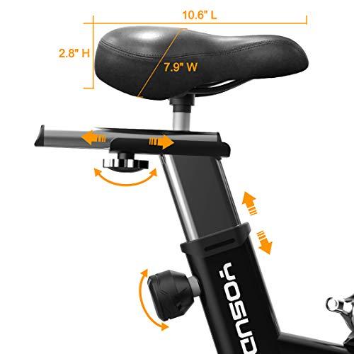 Yosuda Indoor Cycling Bike Stationary Exercise Bike With