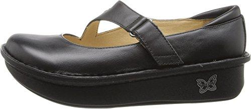 Alegria Womens Dayna Professional Shoe Black Napa Leather QMewVv