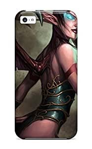 New Premium Flip Case Cover World Of Warcraft Video Game Other Skin Case For Iphone 5c