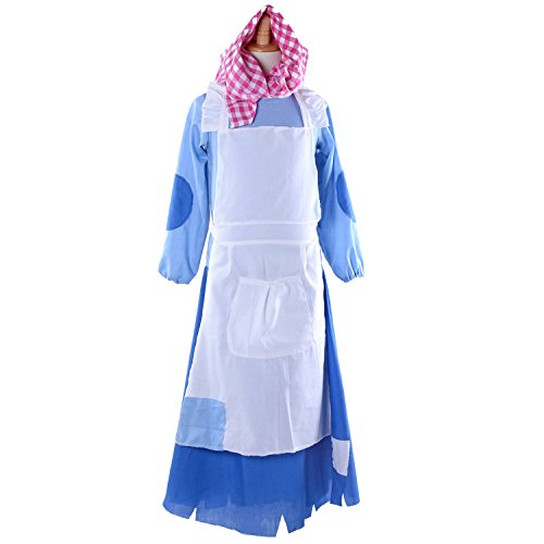 Girl Cosplay Costumes Village Princess Maid Dress Suit (Village Girl Costume)