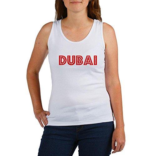 CafePress Retro Dubai Red Women's Tank Top - L Multi-color