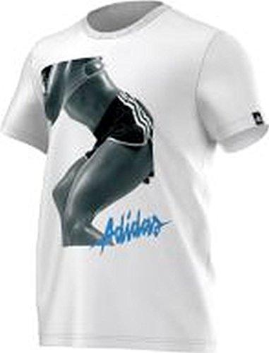 Adidas T-Shirt Workout Girl Herren Weiß