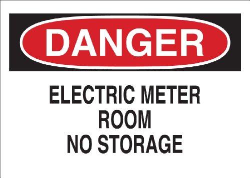 Brady 25527 Plastic Electric Storage