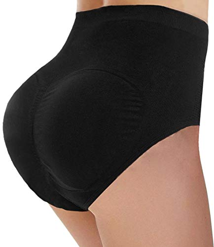 CeesyJuly Womens Padded Booty Booster Butt Lifter Shaper Firm Control Panties