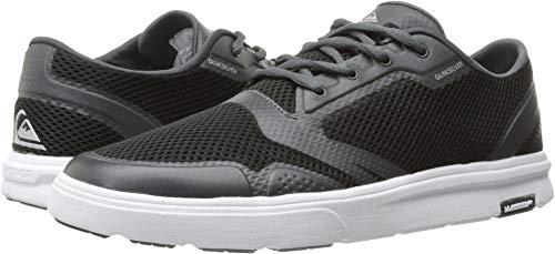 Quiksilver Men's Amphibian Plus Skate Shoe Black/Grey/White 6(39) D US from Quiksilver