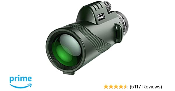 Amazon pankoo monocular telescopes high power prism