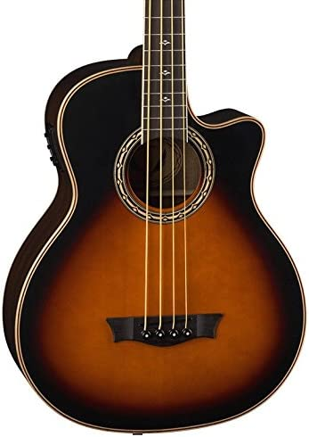 B06WWN4192 Dean Exotica Supreme Cutaway Acoustic-Electric Bass, Tobacco Sunburst 41WzZRCmyAL