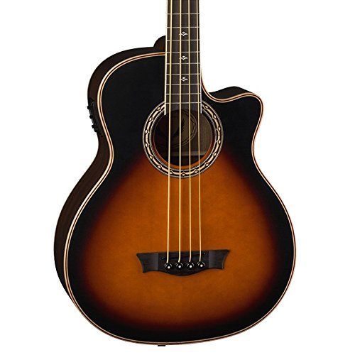 Dean Exotica Supreme Cutaway Acoustic-Electric Bass, Tobacco Sunburst ()