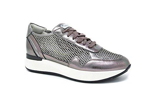 35 Sneaker Glitter e Rete con Laminato in x1BqSP
