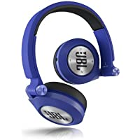 JBL E40BT Blue High-Performance Wireless On-Ear Bluetooth Stereo Headphone,