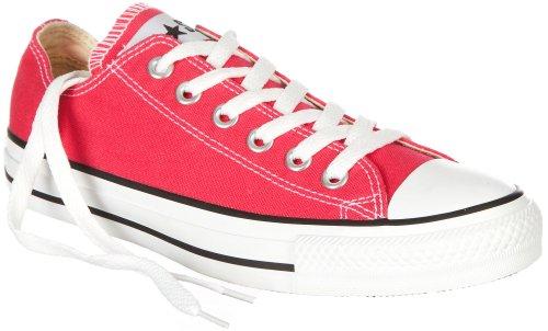Rogue Womens Flat - Converse 132298f Casual Flat Sneaker - Raspberry (8)