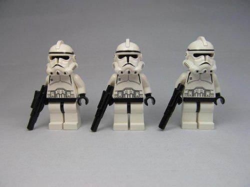 LEGO Star Wars Episode 3 Clone Trooper Lot (X3) Minifigures