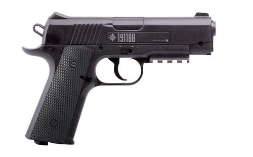 Crosman 1911 Semi-Auto .177 BB CO2 Air (Automatic Airsoft Pistol)