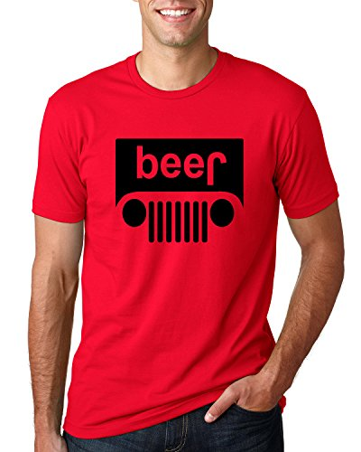 - Wild Bobby Beer Logo | Cars and Trucks Parody Humor Alcohol | Mens Drinking Tee Graphic T-Shirt, Red Black, X-Large