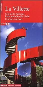 Book La Villette : Cité de la musique, Park and Grande Halle, Cité des sciences, édition en anglais
