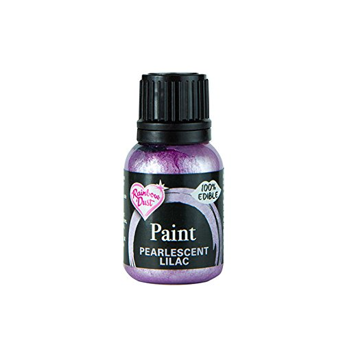 - Rainbow Dust Edible Food Paint METALLIC PEARLESCENT LILAC For Cake Decorating