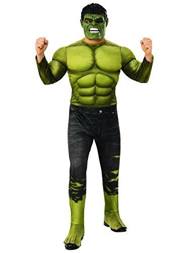Rubie's Adult Infinity War Deluxe Hulk Costume, -