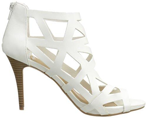 Fergalicious Women's Sandal White Heeled Hysterical 6xrwqd0RP6