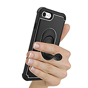 5-in-1 Scooch Clipstic Pro Case for iPhone 7 (Black)