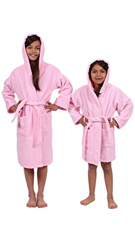 Turkuoise Turkish Cotton Eco Friendly Bathrobe Girls