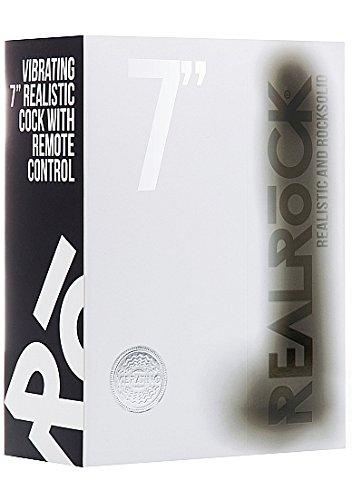 Real Rock 002 1 Vibrador Realístico, Negro, 18 cm - 1 002 Unidad c5bfc5