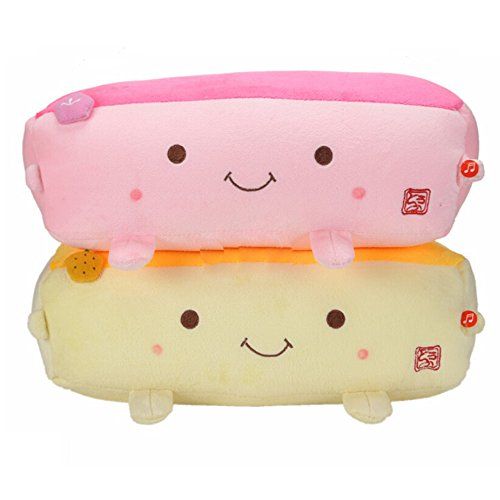 Cute Tofu Pillow : Hannari Grapefruit ToFu Massage Vibrational Pillow Cushion Plush Iebeauty Beautil