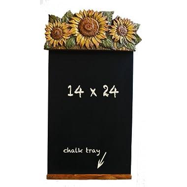 Sunflower Kitchen Decor Chalkboard Blackboard