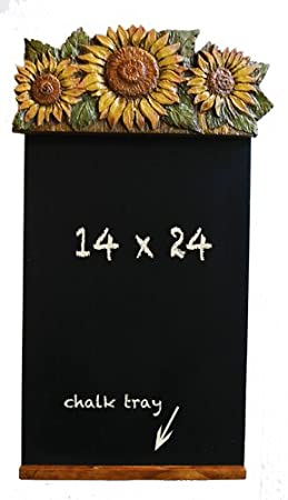 Amazon.com : Sunflower Kitchen Decor Chalkboard Blackboard : Kitchen  Products : Office Products